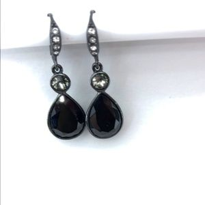Givenchy Stone and Crystal Drop Earrings